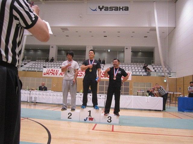 アームレスリング 2014 全日本 結果