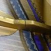 ピアノのフレーム折れ修理の画像