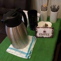コーヒー人気です