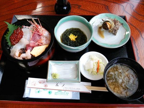 広〆の海鮮丼定食1