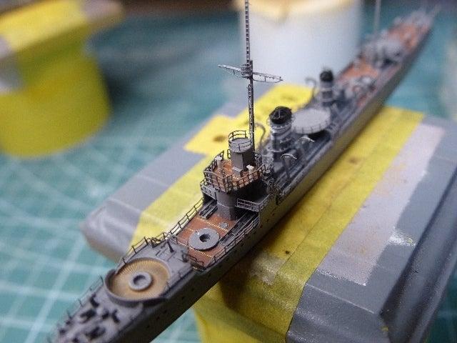模型工房 Autarkie1/700 樅型駆逐艦 その2