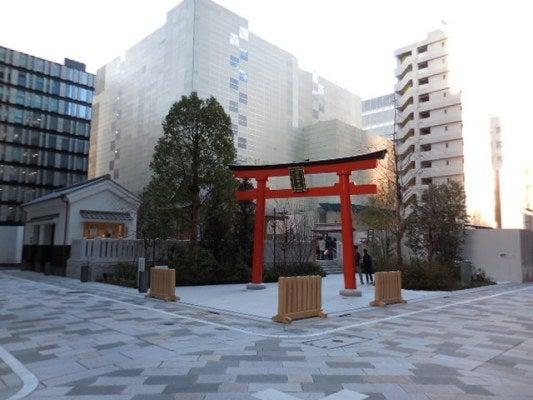 日本橋「福徳神社(別号:芽吹神...