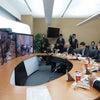 『神山サテライトオフィスとのテレビ会議』の画像
