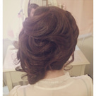 ヘアセットでサイドスタイルに♡〜結婚式前のヘアセットでご来店、東大宮駅よりすぐ♫〜の記事より