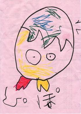 子供の絵 エコバッグ