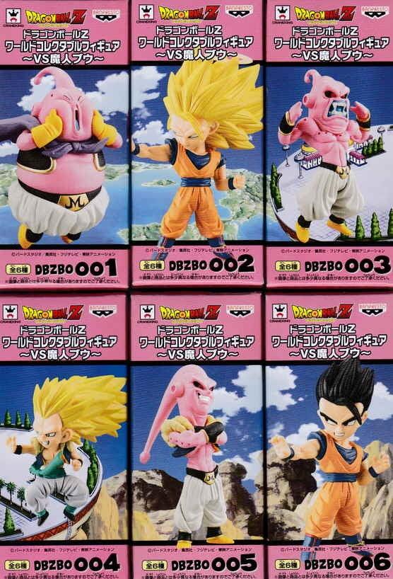 Dragon Ball Z Super WCF Majin Buu dbzbo 001 DBZ