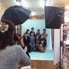♡美人冠で家族写真 成人式の前撮り 特設スタジオ作りました(笑)の画像