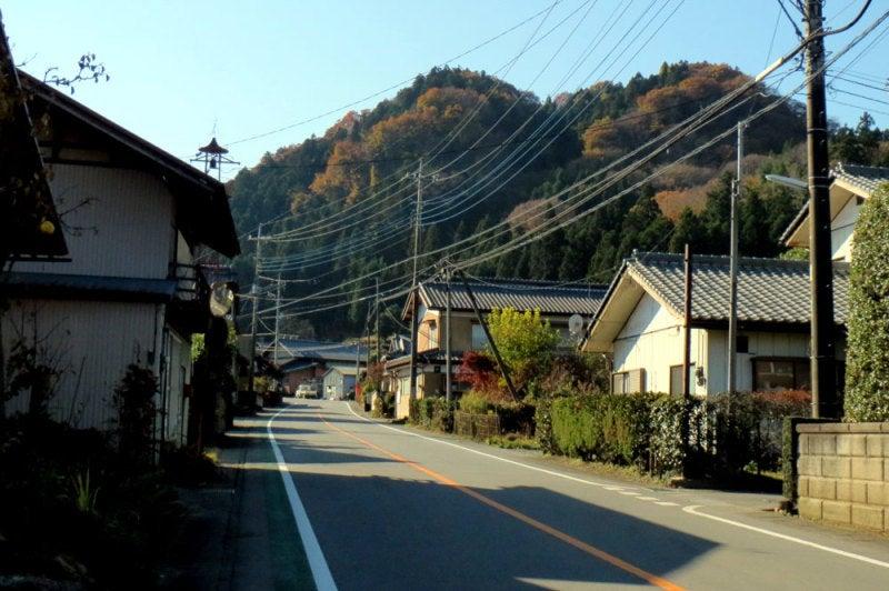 菅原城/①北東側からの遠景
