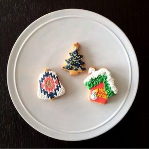 モサモサツリーのクッキーを作りました☆の画像
