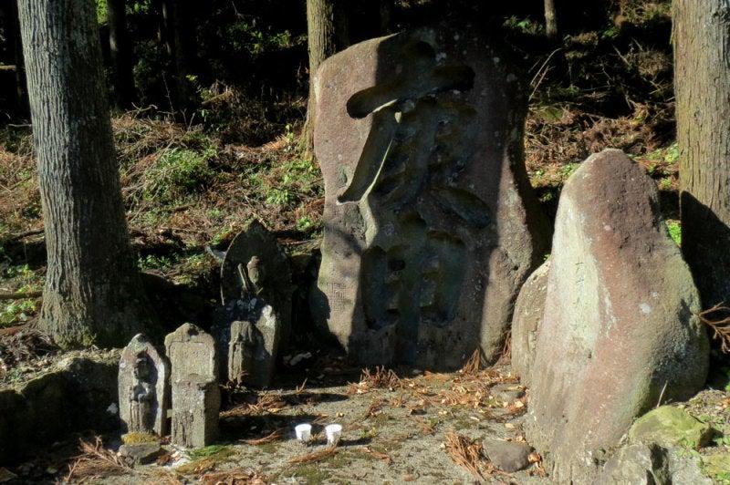 菅原城/⑥庚申の石碑