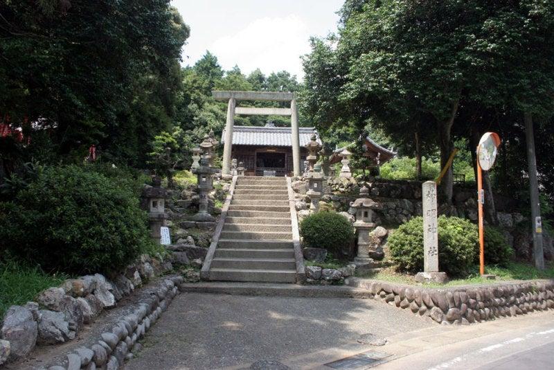 八幡山城/②神明神社