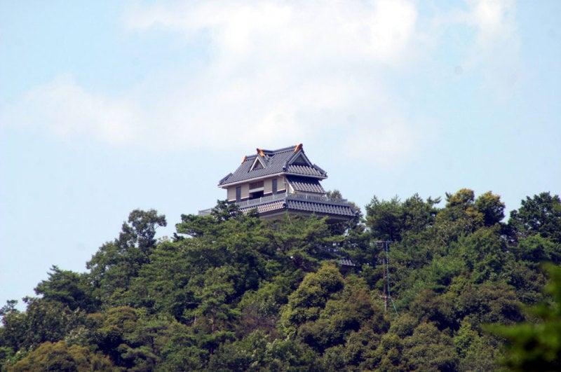 小倉山城/①展望台