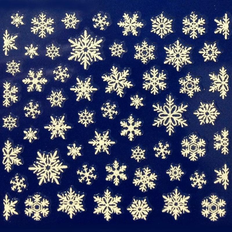 雪の結晶シール貼り放題キャンペーンa