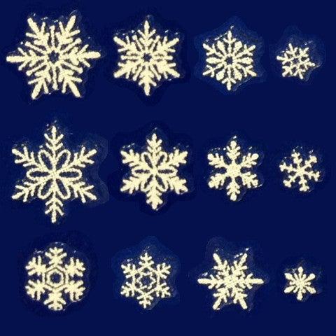 雪の結晶シール貼り放題キャンペーンb