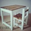 机と椅子♪