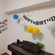 初めてのお誕生日。