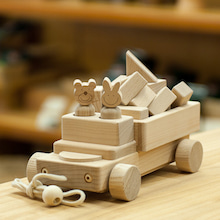積木のトラック