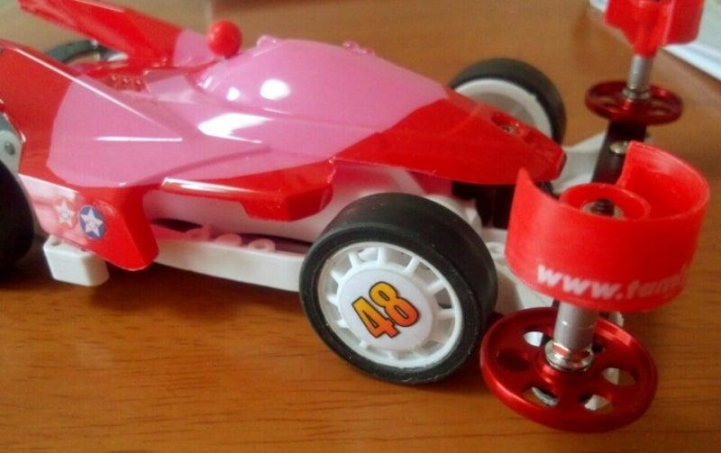 四 駆 タイヤ 改造 ミニ