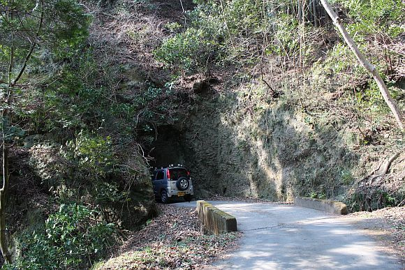 梅ノ木台2号隧道