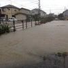 台風18号で川氾濫♪の画像
