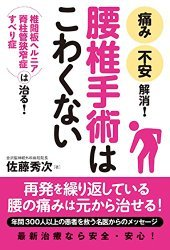腰痛・首痛の本 佐藤秀次(著)