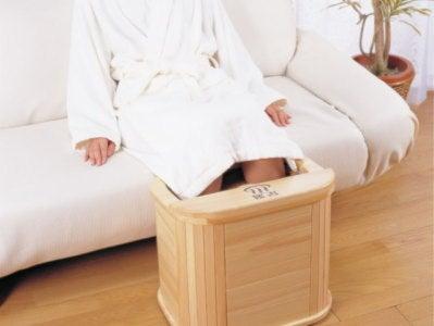 生理痛・更年期障害の冷え解消に温泉のような足湯器