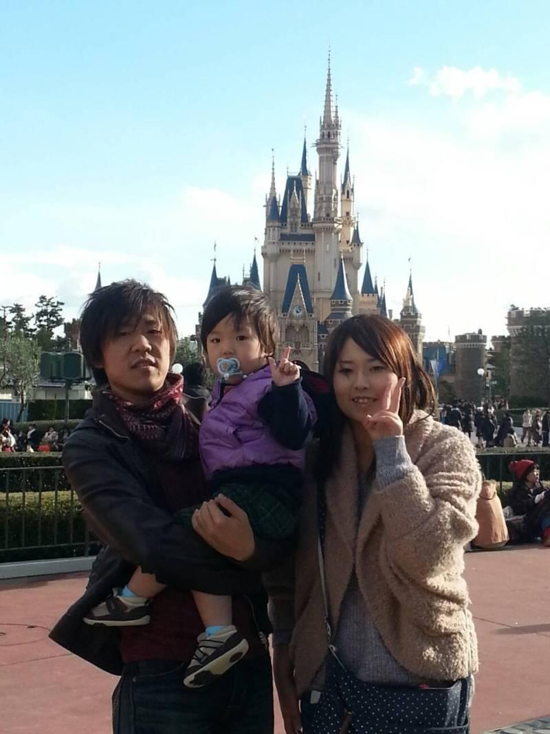 ディズニー☆家族旅行③|ウミタス☆ルミタス