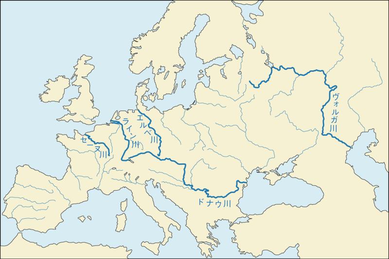 スペインの河川の一覧