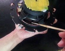SP1スピーカー裏塗装