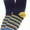 毛糸の靴下の画像