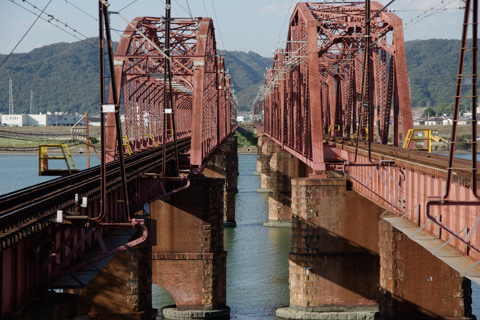 紀ノ川橋梁(南海線)168