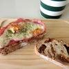 朝のパンお昼のパンの画像