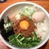 らー麺鉄山靠【台湾まぜそば】@滋賀 大津市 26.12.11の画像