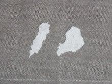 剥がれた壁紙