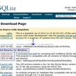 SQLite3とOp…
