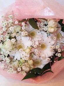 生徒様の作品 ウェデイング 生花花束