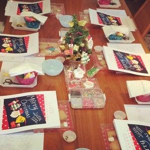 クリスマスオーナメントクッキーのレッスンレポートの画像