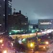 とある首都高の夜景写…