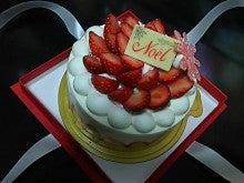 2014年のクリスマスケーキ
