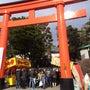 東伏見稲荷神社にて献…
