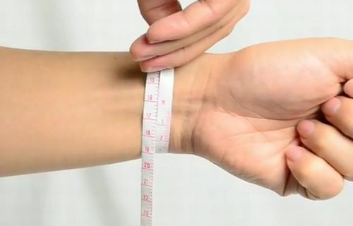 テンデンス腕周りの測り方
