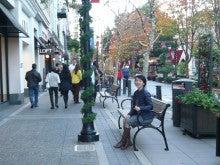 San JoseのSantana Rowにて久美代