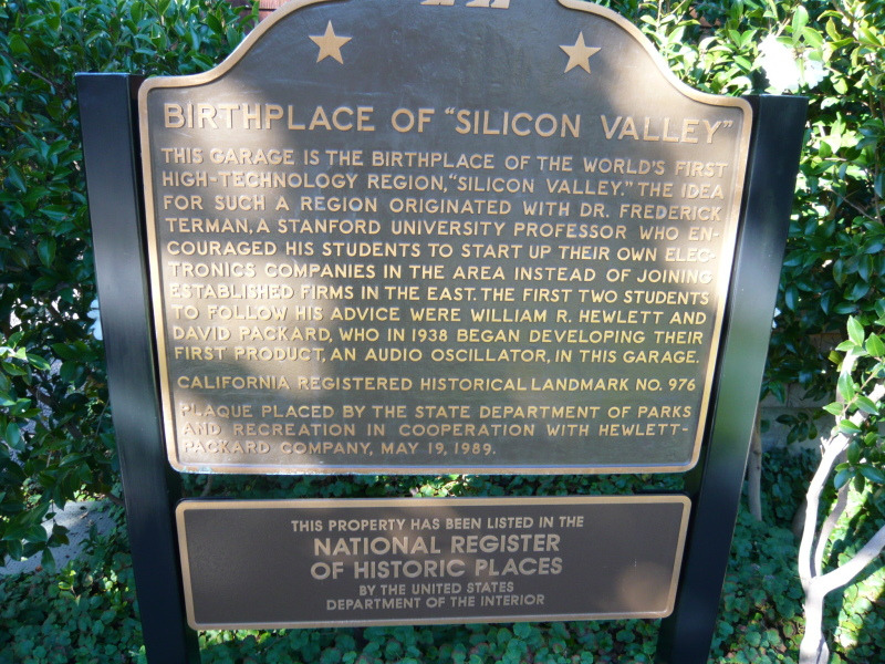 Silicon Valley発祥の地