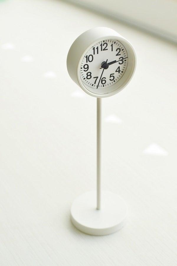 無印良品 | デジタル時計・小(アラーム機能付)ホワイト/型番:MJ‐DCSW1 通販