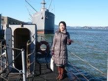 潜水艦の上の久美代