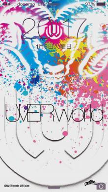 UVERworld 2015 お正月待受 01