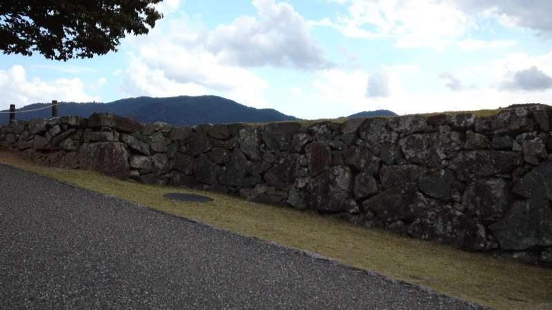 大洲城暗り門跡・かま櫓跡・井戸丸跡・本丸廻り櫓跡 | ばずのぶろぐ