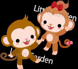 無料年賀状素材 干支 猿 さる イラスト16 Little Garden 無料イラスト素材の更新情報とお散歩