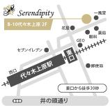 セレンディピティ 地図