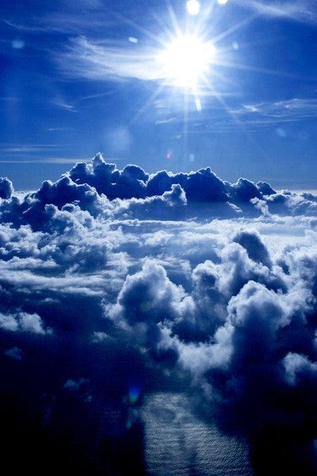 ♯107 雨の日も雲の上は晴れ | 魂の休み時間